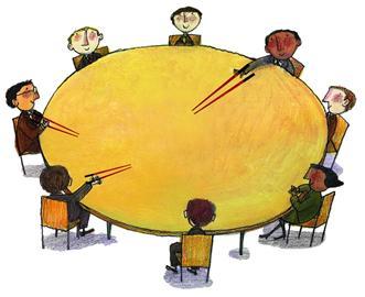 配餐中心矢量图
