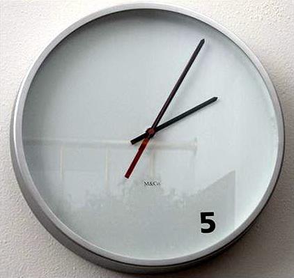 时钟表盘数字可爱