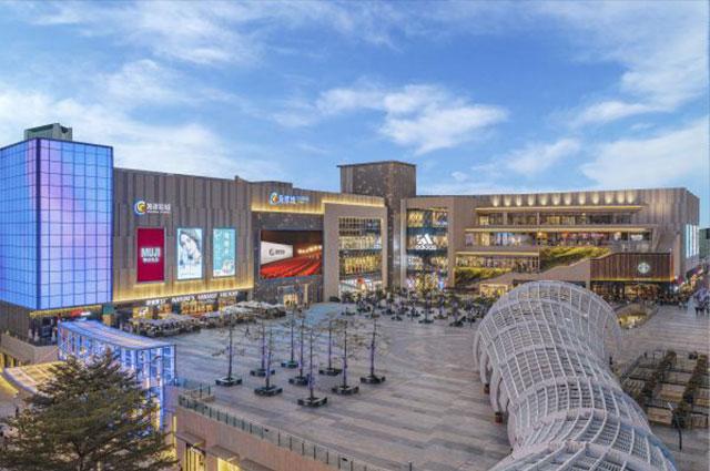 深圳南山海岸城购物中心